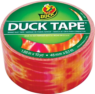"Duck Tape® Brand Duct Tape, Cosmic Tie-Dye™, 1.88"" x 10 Yards"
