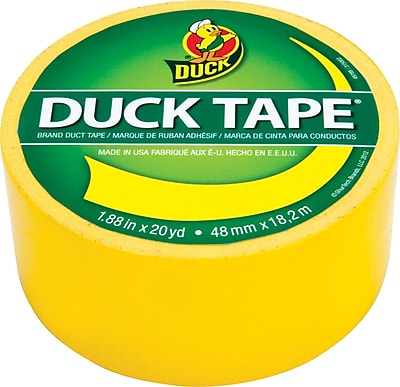 Duck Tape® Brand Duct Tape, Sunburst Yellow™, 1.88