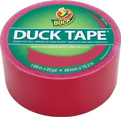 Duck Tape® Brand Duct Tape, Cha Cha Cherry™, 1.88