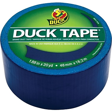 Duck Tape® Brand Duct Tape, Deep Blue Ocean™, 1.88