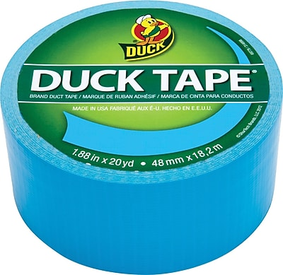 Duck Tape® Brand Duct Tape, Electric Blue™, 1.88
