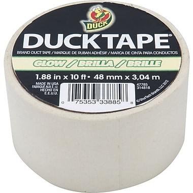 Duck Tape® Brand Duct Tape, Glow in the Dark, 1.88