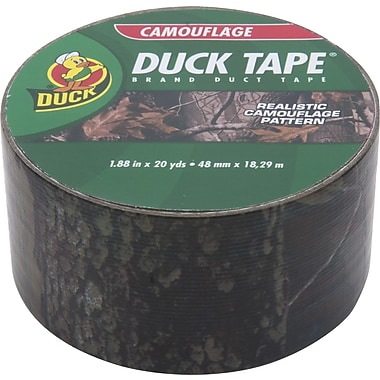 Duck Tape® Brand Duct Tape, Realwoods Camoflauge, 1.88