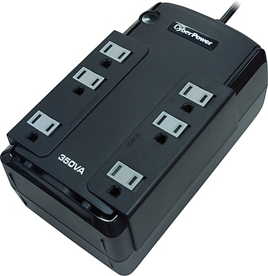 Cyber Power Standby Series 350VA 6-Outlet UPS