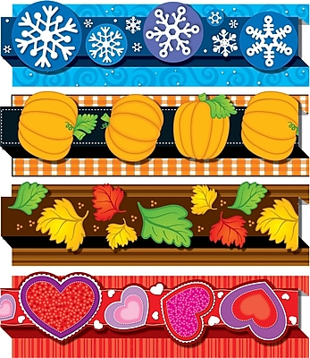 Carson-Dellosa Seasonal Pop-Its™ Border Set