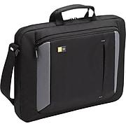 "Case Logic 16"" Laptop Attache, Black/Grey"