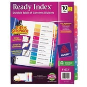Avery® Ready Index® 11072 Table of Contents Divider, Multicolor