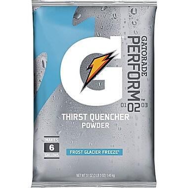 Gatorade® 6 gal Yield Instant Powder Dry Mix Energy Drink, 51 oz Pack, Glacier Freeze