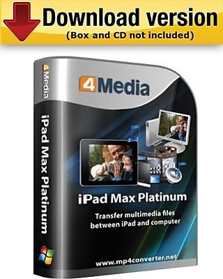 4Media iPad Max Platinum for Windows (1-User) [Download]