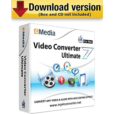 4Media Video Converter Ultimate for Mac (1-User) [Download]