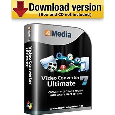 4Media – Video Converter Ultimate pour Mac (1 utilisateur) [Téléchargement]