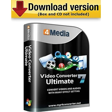 4Media Video Converter Ultimate for Windows (1-User) [Download]