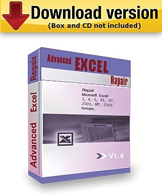 Advanced Excel Repair for Windows (1-User) [Download]