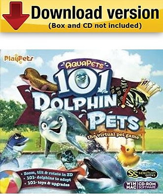 AquaPets 101 Dolphin Pets for Windows (1 - User) [Download]