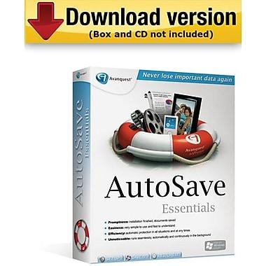AutoSave Essentials pour Windows (1 utilisateur) [Téléchargement]