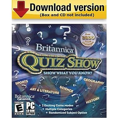 Britannica Quiz Show for Windows (1 - User) [Download]