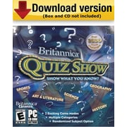 Britannica Quiz Show for Windows (1 - User) [Download]