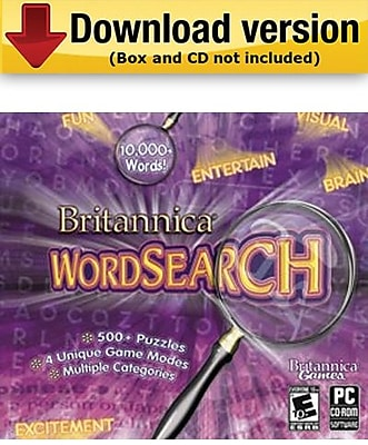 Britannica Word Search for Windows (1 - User) [Download]