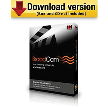 BroadCam Streaming Video Server for Windows (1-User) [Download]