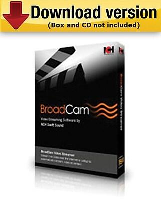 BroadCam Streaming Video Server for Windows (1-User) [Download]