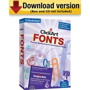 ClickArt Fonts v5 for Windows (1-User) [Download]
