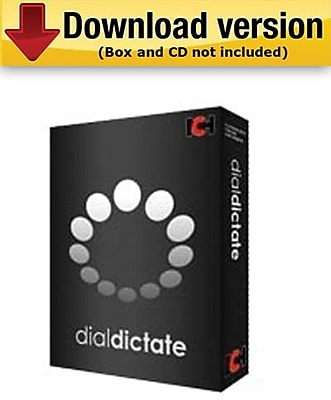 DialDictate Phone Dictation System for Windows (1-User) [Download]