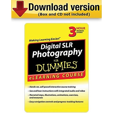 Digital SLR Photography For Dummies pour Windows (1 utilisateur)