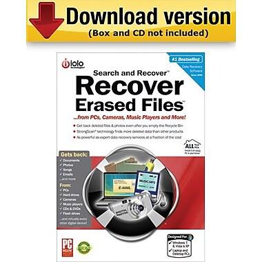Search and Recover pour Windows (nombre d'utilisateurs illimité) [Téléchargement]