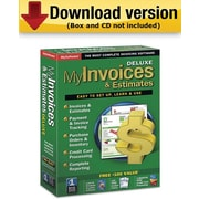 My Invoices & Estimates Deluxe for Windows (1-User) [Download]