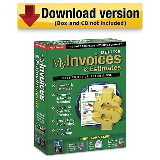 My Invoices Estimates Deluxe For Windows User Download Staples - My invoices and estimates deluxe license key free