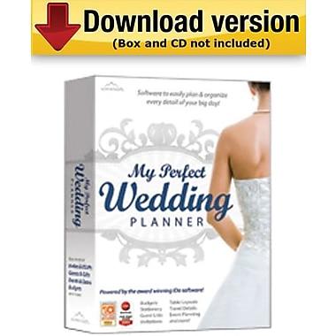 My Perfect Wedding Planner – logiciel de planification de mariage pour Windows (1 utilisateur) [coffret]