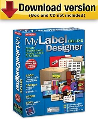 MyLabel Designer Deluxe 9.0 for Windows (1-User) [Download]