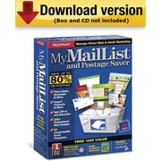 MyMailList and Postage Saver for Windows (1-User) [Download]