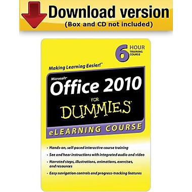 Office 2010 For Dummies for Windows (1-User)
