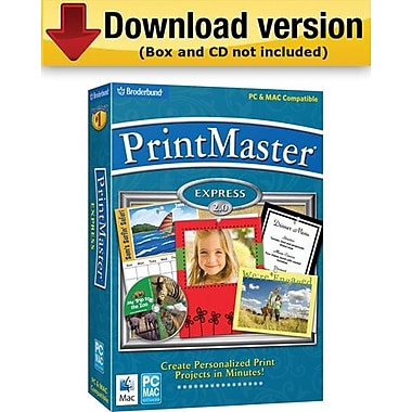 PrintMaster Express 2. 0 for Windows (1-User) [Download]