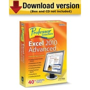 Professor Teaches Excel 2010 Advanced for Windows (1-User)  [Download]