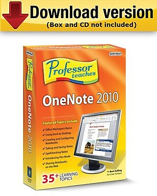Professor Teaches OneNote 2010 for Windows (1-User) [Download]