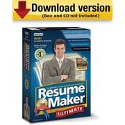 Individual Software – Logiciel création de CV ResumeMaker Professional Ultimate 4 pour Windows (1 utilisateur) [téléchargement]