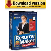 ResumeMaker Ultimate 6 for Windows (1-User) [Download]