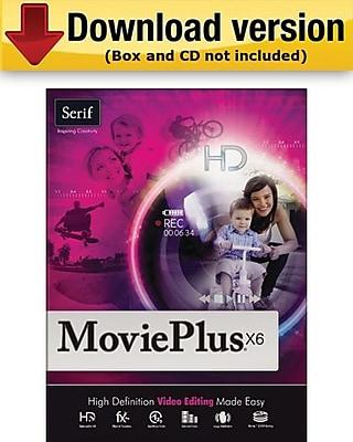 Serif MoviePlus X6 for Windows (1-User) [Download]