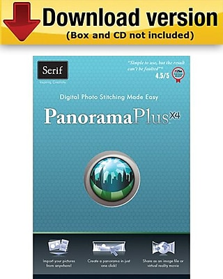 Serif PanoramaPlus X4 for Windows (1-User) [Download]