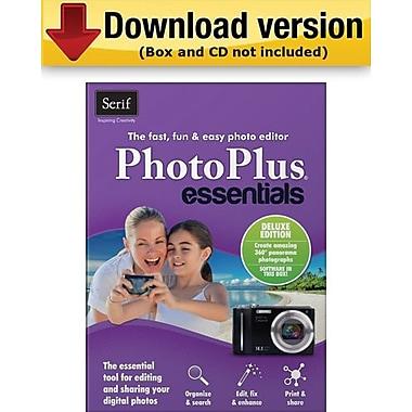 Serif – PhotoPlus Essentials Deluxe pour Windows (1 utilisateur) [Téléchargement]