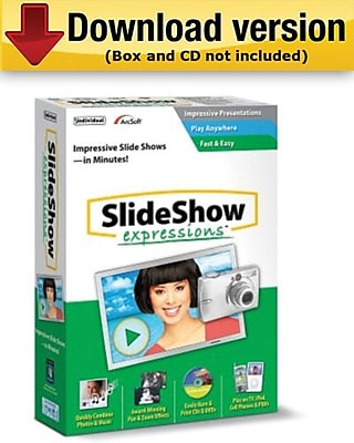 SlideShow Expressions 2. 0 for Windows (1-User) [Download]