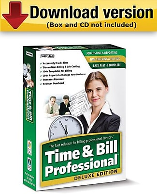 Time & Bill Professional Deluxe Edition for Windows (1-User) [Download]