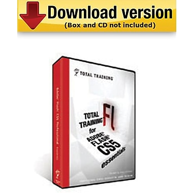 Total Training for Adobe Flash CS5 Professional:Essentials pour Windows (1 utilisateur) [Téléchargement]