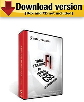 Total Training for Adobe Flash CS5 Professional:Essentials for Windows (1-User) [Download]