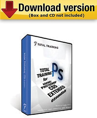Total Training for Adobe Photoshop CS5 Extended:Essentials for Windows (1-User) [Download]