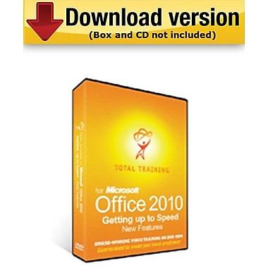 Total Training – Logiciel tutoriels pour MS Office 2010 et nouv. fonctionnalités, pour Windows (1 utilisateur) [téléchargement]