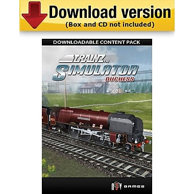 Trainz : Duchess pour Windows (1 utilisateur) [Téléchargement]