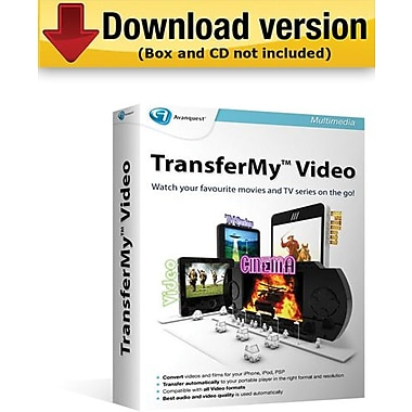 TransferMy Video for Windows (1-User) [Download]